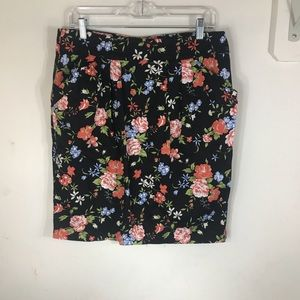 Pins & Needles Skirts - PINS & NEEDLES | Floral Pencil Skirt Anthro